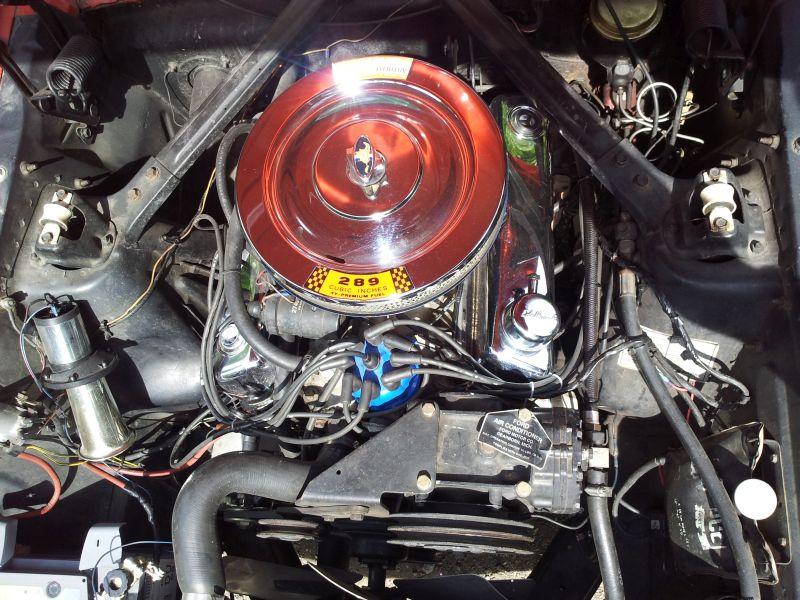"""Ford Mustang 289 - auf dem Parkplatz """"schnappgeschossen"""" 1965 20150623"""