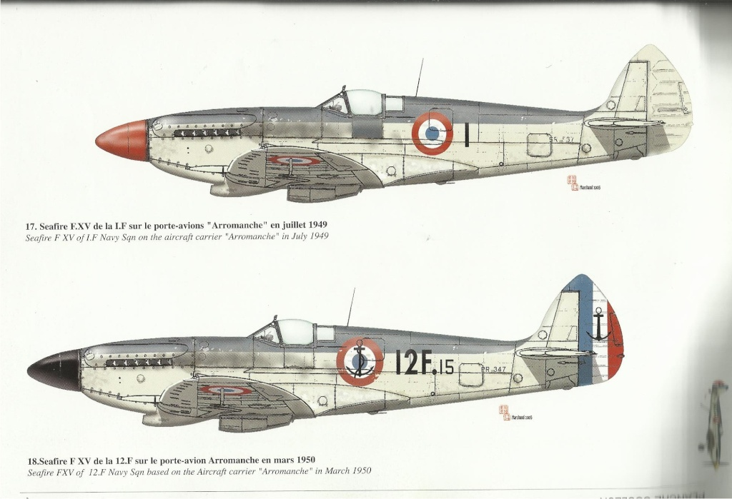 Supermarine Seafire F MK. XV de Revell au 1/48 par Pascal 94 - Page 5 00618