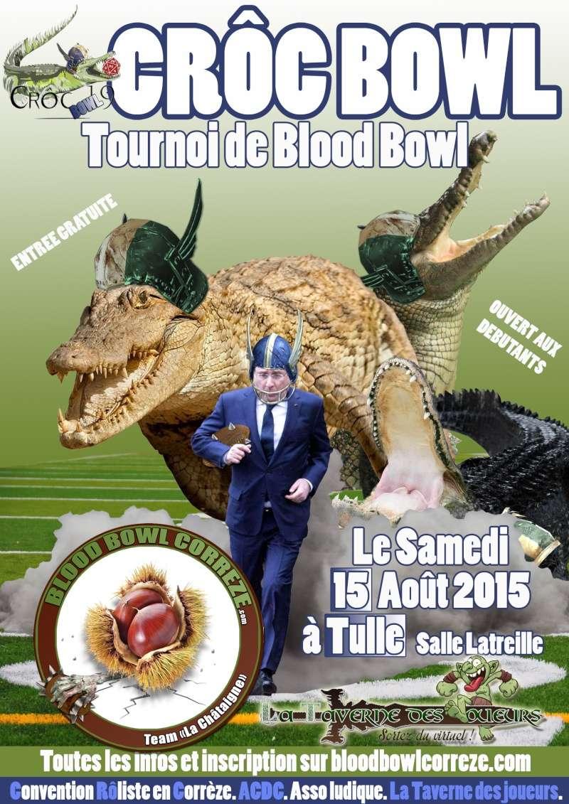CRôC Bowl 2015 : Le Samedi 15 Août 2015 à Tulle (Corrèze) Affich11
