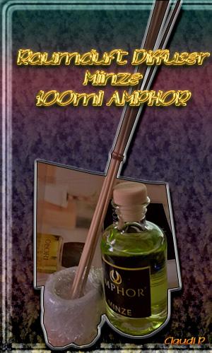 brennbare Kerzen und Duftöl Amphor10