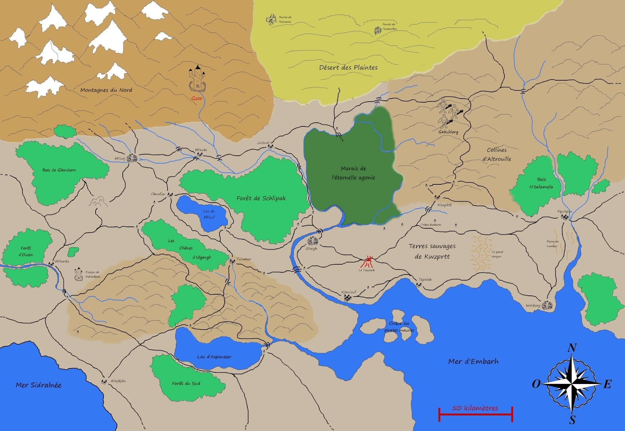 Map refaite de la Terre de Fangh Terre_12