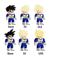 Sprites of charakters Goku_a10