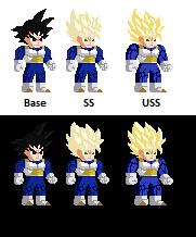 Sprites of charakters Gokuve11