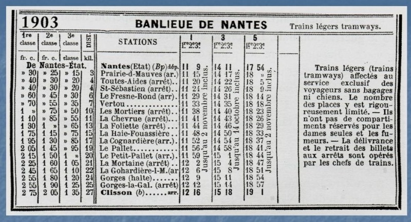 Les Gares de Nantes à Clisson - Ligne de Nantes-Saintes Diapos10