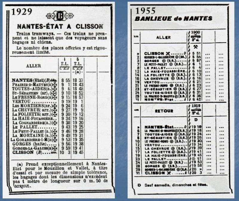 Les Gares de Nantes à Clisson - Ligne de Nantes-Saintes Diapos11
