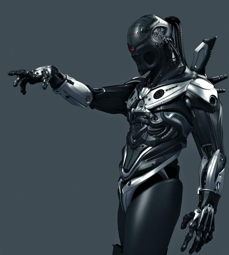 Fécanix, robot assassin. Armure10