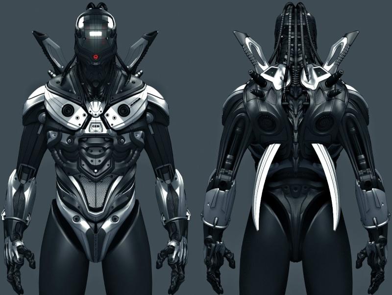 Fécanix, robot assassin. Armure12