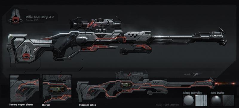Fécanix, robot assassin. Fusil_10