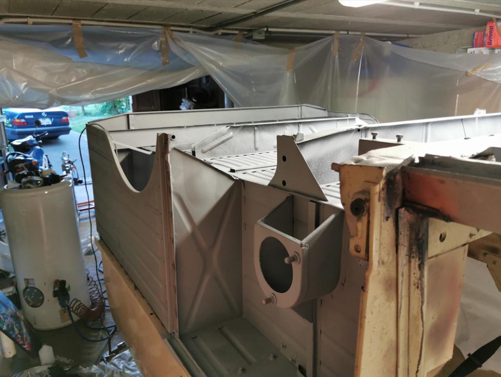Restauration d'une 2CV AK400 Captu160