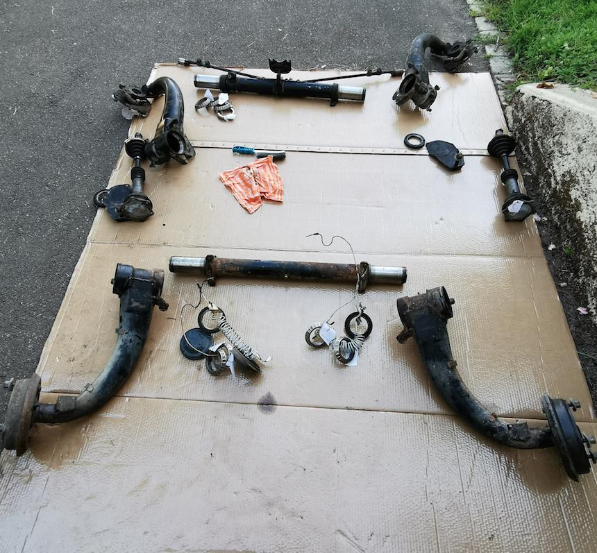 Restauration d'une 2CV AK400 Captur17