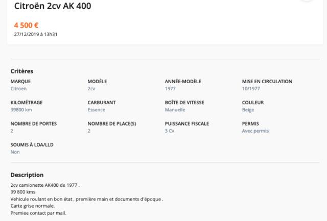Restauration d'une 2CV AK400 Captur49
