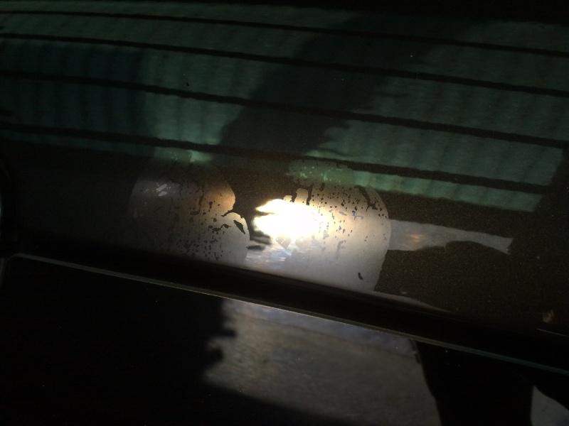 Macchie causate da telo protettivo 26062011