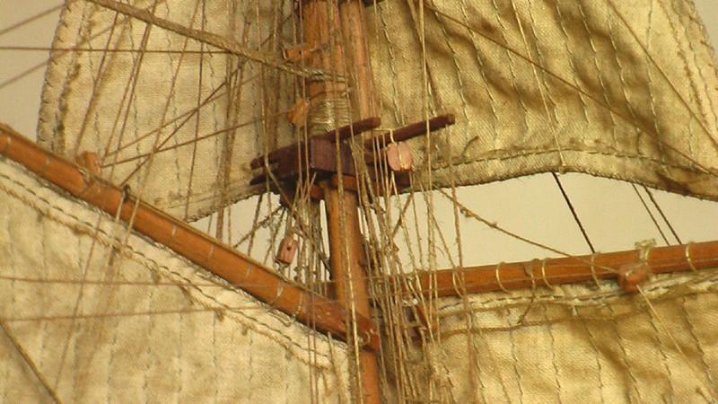 LA TOULONNAISE, goelette de 1823 au 1/75 par parellum, sous voiles, et photos Musée de la Marine Imga0014