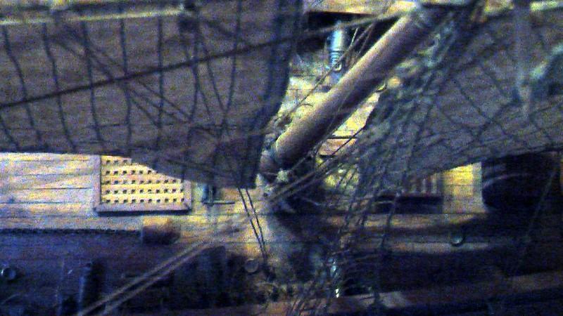 LA TOULONNAISE, goelette de 1823 au 1/75 par parellum, sous voiles, et photos Musée de la Marine Imga0015