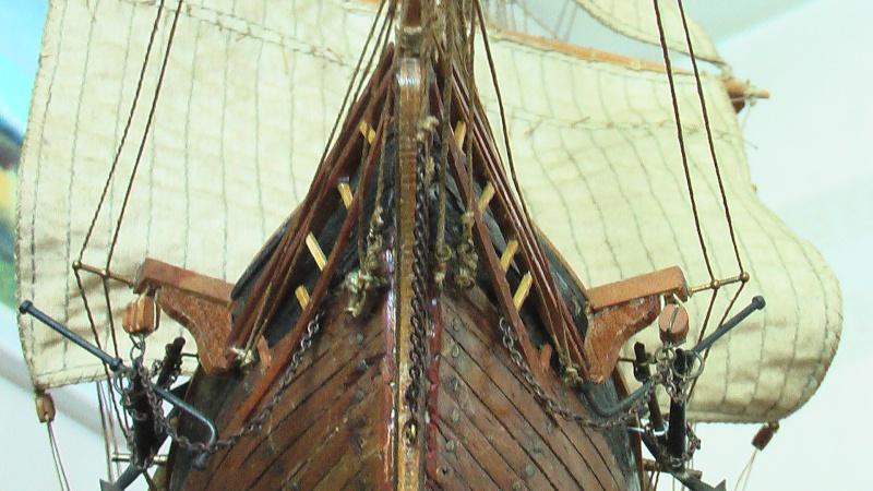 LA TOULONNAISE, goelette de 1823 au 1/75 par parellum, sous voiles, et photos Musée de la Marine Imga0029