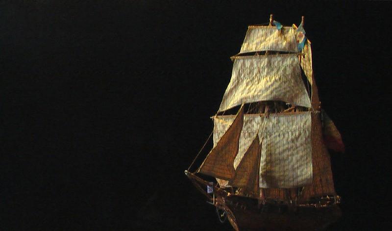 LA TOULONNAISE, goelette de 1823 au 1/75 par parellum, sous voiles, et photos Musée de la Marine Imga0913