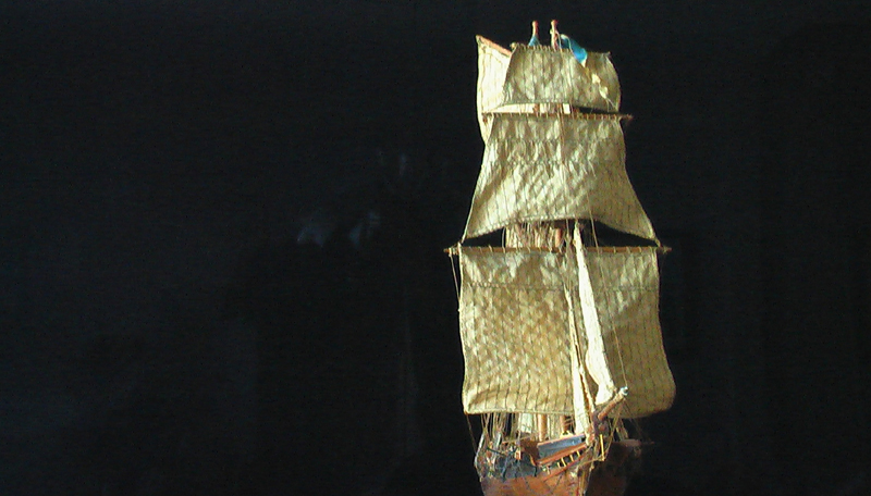LA TOULONNAISE, goelette de 1823 au 1/75 par parellum, sous voiles, et photos Musée de la Marine Imga0914