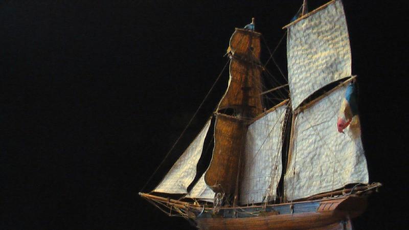 LA TOULONNAISE, goelette de 1823 au 1/75 par parellum, sous voiles, et photos Musée de la Marine Imga0915