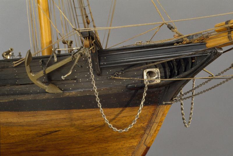 LA TOULONNAISE, goelette de 1823 au 1/75 par parellum, sous voiles, et photos Musée de la Marine - Page 3 M5026_11
