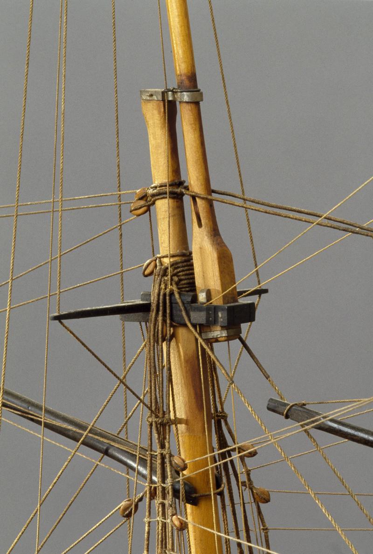 LA TOULONNAISE, goelette de 1823 au 1/75 par parellum, sous voiles, et photos Musée de la Marine - Page 3 M5026_17