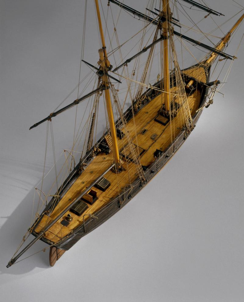 Musée de la Marine, goélette La Toulonnaise 1823, crédits photos A. Fux, par parellum M5026_23