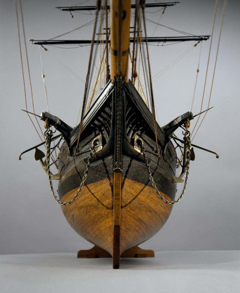 Musée de la Marine, goélette La Toulonnaise 1823, crédits photos A. Fux, par parellum M5026_25