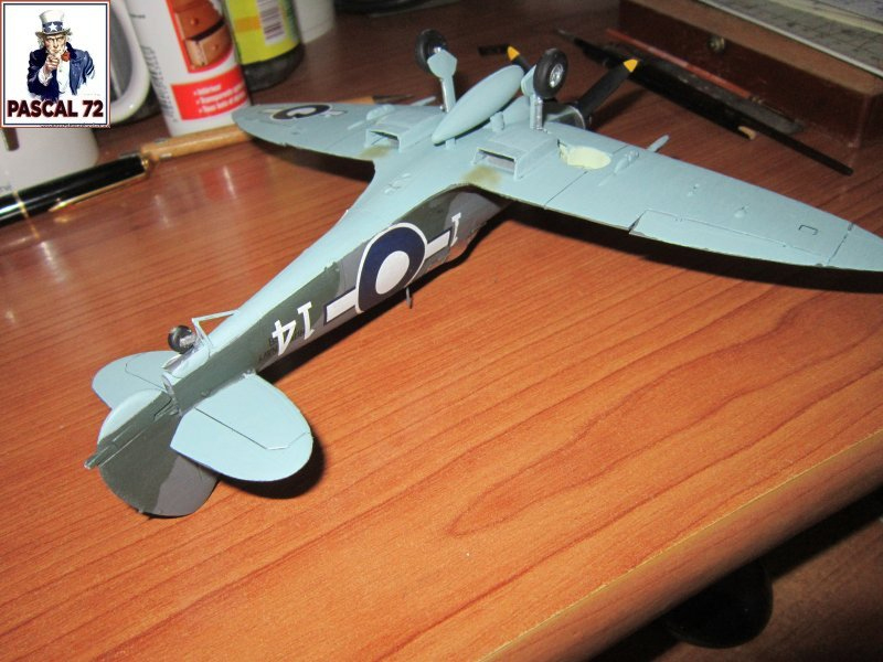 Supermarine Seafire F MK. XV de Revell au 1/48 par Pascal 72 - Page 3 Seafir10