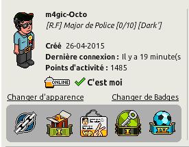 [♣] [C.H.U] Rapport D'Activité -----> M4gic-Octo [♣] Heur_e10