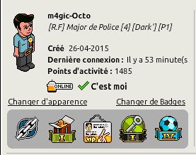[♣] [C.H.U] Rapport D'Activité -----> M4gic-Octo [♣] Heure10