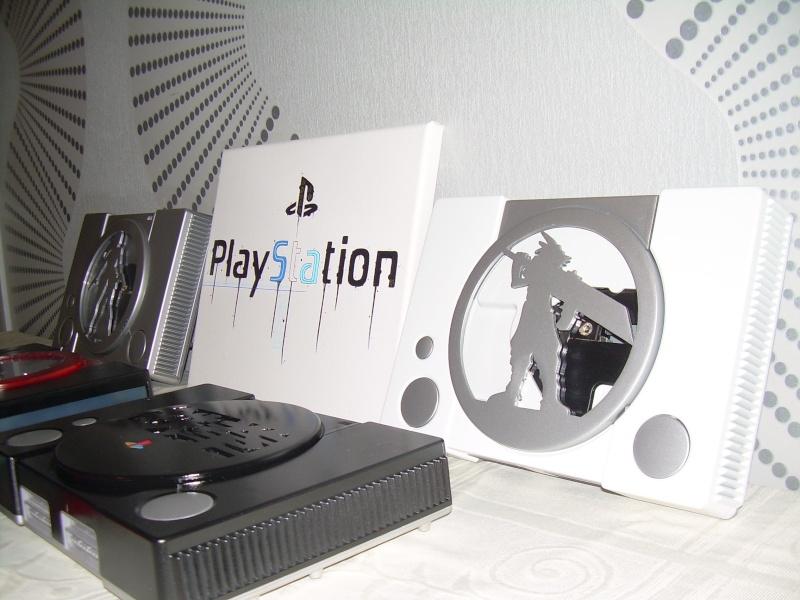 """Playstation 1 CusTOm FFVII """"Cloud"""" Comman10"""