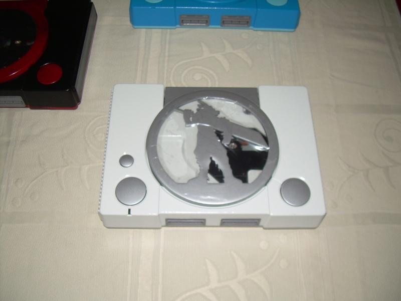"Playstation 1 CusTOm FFVII ""Cloud"" Dscn1810"