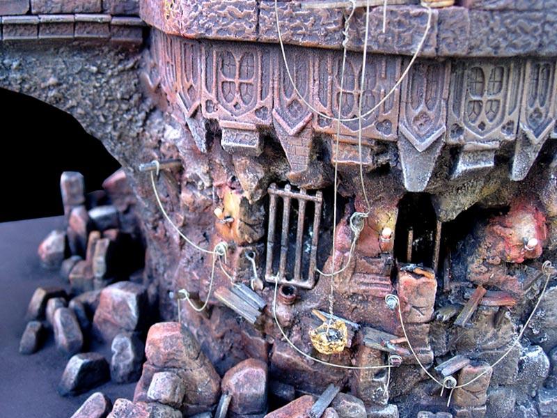 Les dioramas de la Terre du Milieux  Kazad_11