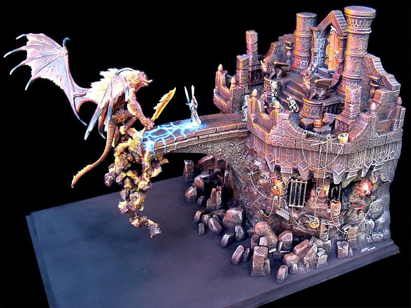 Les dioramas de la Terre du Milieux  Kazad_19