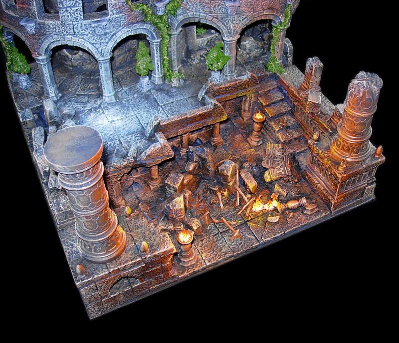 Les dioramas de la Terre du Milieux  Roi_so10