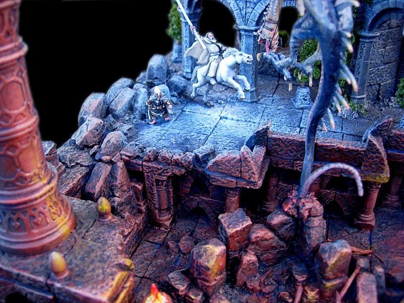 Les dioramas de la Terre du Milieux  Roi_so11