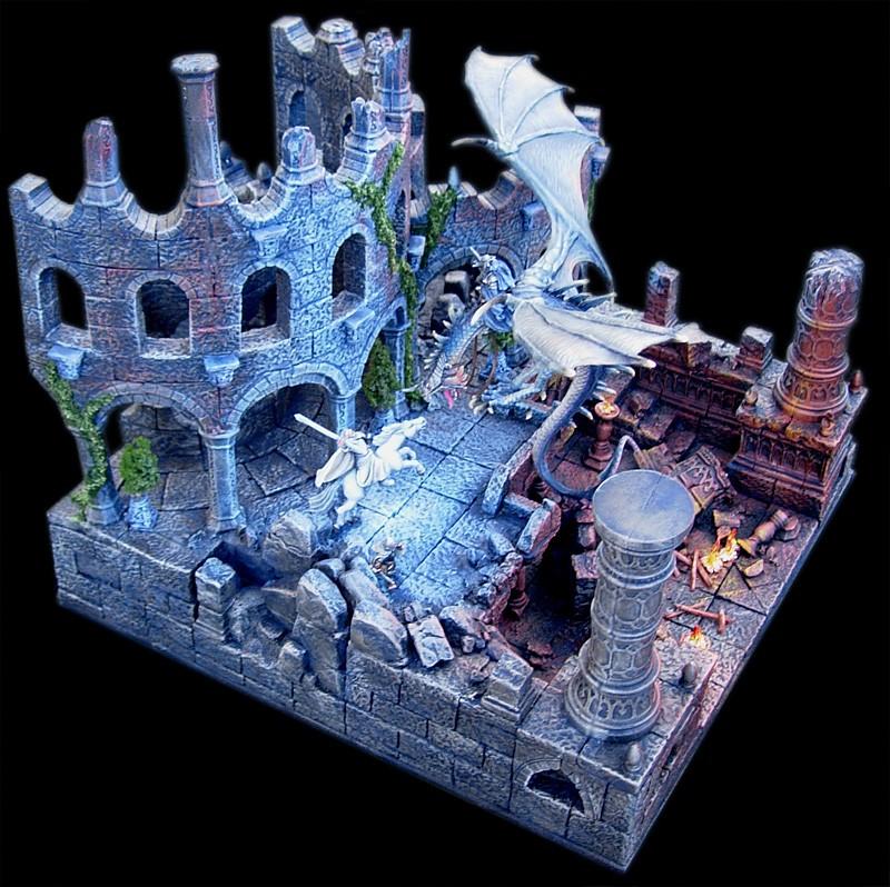 Les dioramas de la Terre du Milieux  Roi_so13