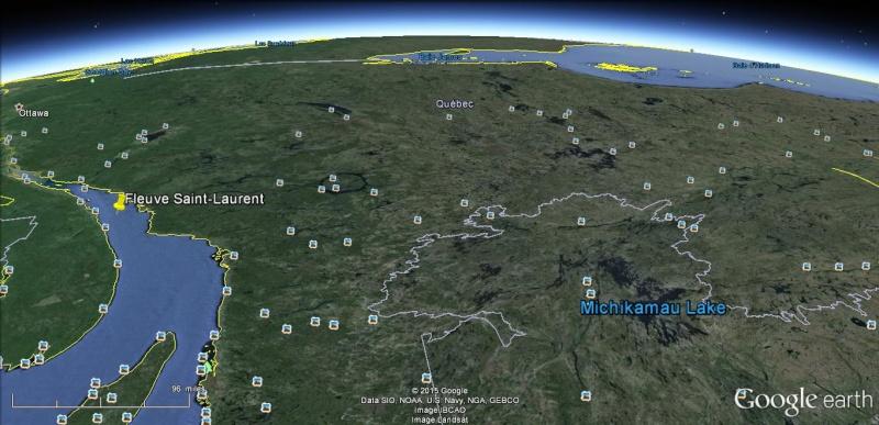 fleuve st laurent sur la cote nord quebec Sud11