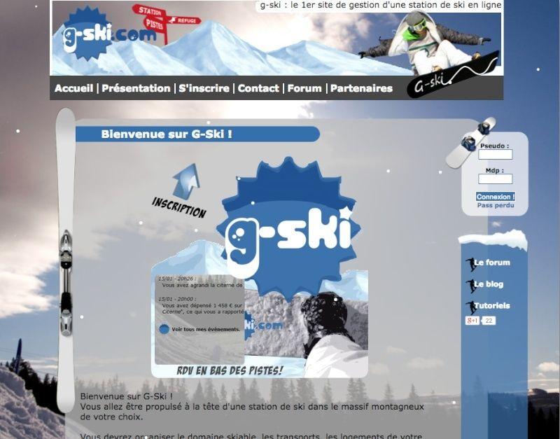 Jeux de gestion station de ski Captur23