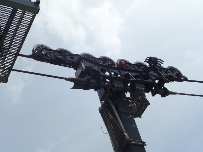 Téléphérique bicâble à va et vient 63 places (TPH 63) du Plan de l'Aiguille (ou Aiguille du Midi 1)  Sam_0413