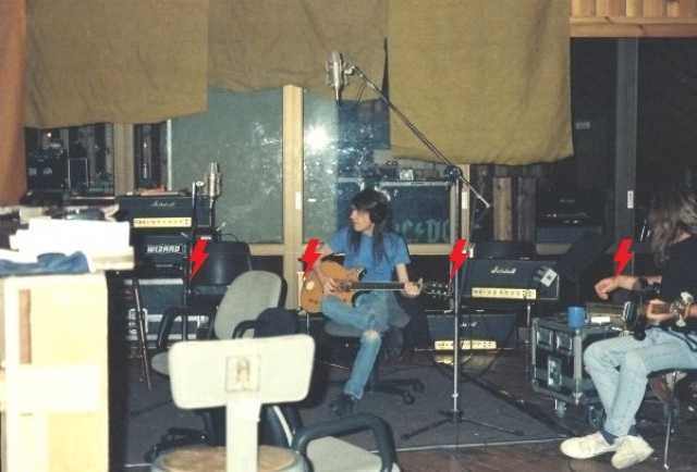 1995 / 08 / ?? - USA, New York, Power station studios 111