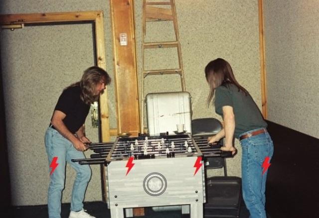 1995 / 08 / ?? - USA, New York, Power station studios 1110