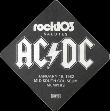 """1981 / 1982 - For those about to rock """"World Tour"""" 127"""
