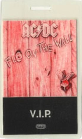 """1985 - Fly on the wall """"North American Tour"""" 132"""