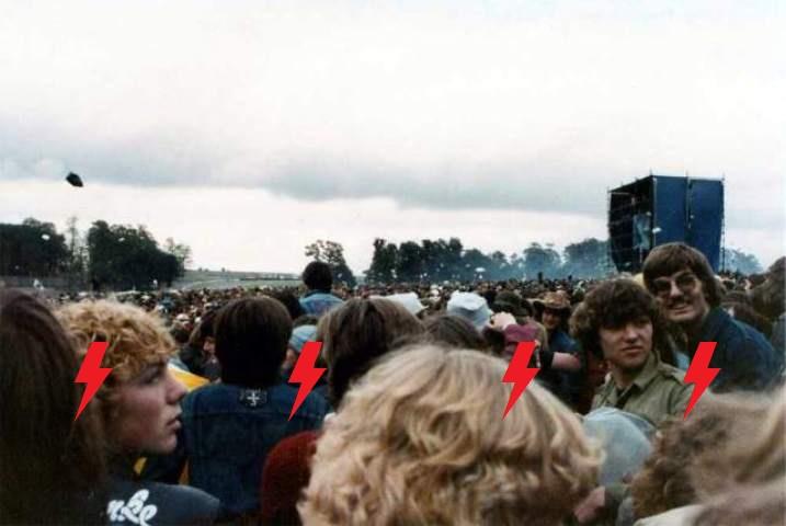1981 / 08 / 22 - UK, Donington, Castle park 151