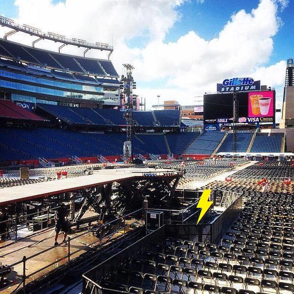 2015 / 08 / 22 - USA, Foxborough, Gillette stadium 2103