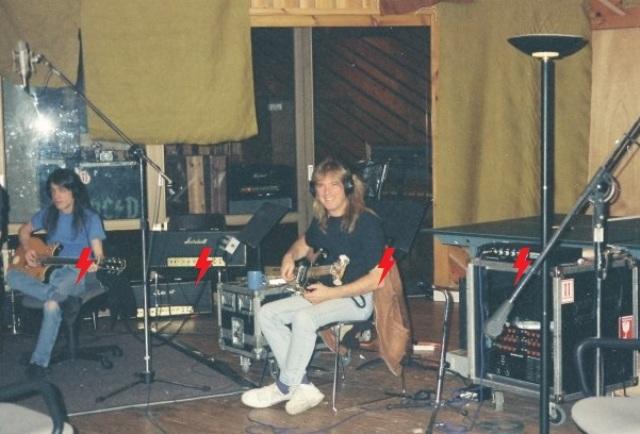 1995 / 08 / ?? - USA, New York, Power station studios 212
