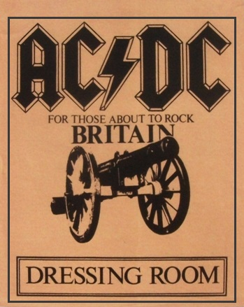 """1981 / 1982 - For those about to rock """"World Tour"""" 325"""
