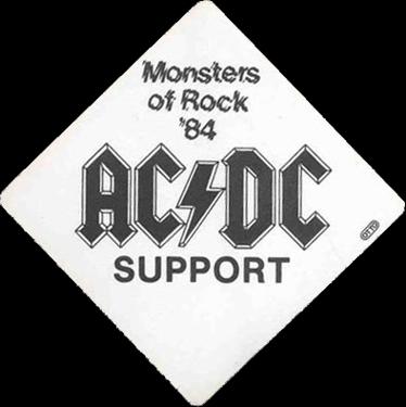 "1984 - Flick of the switch ""European Tour"" 331"