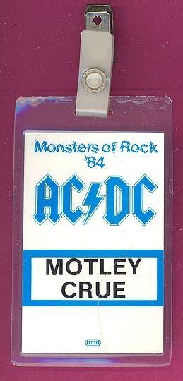 "1984 - Flick of the switch ""European Tour"" 428"