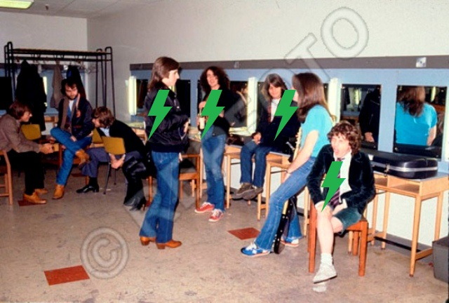 1980 / 02 / 06 - UK, Borehamwood, Elstree studios 439